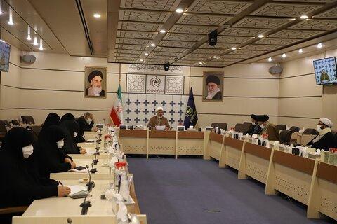 نشست معاونان فرهنگی، آموزشی و پژوهشی حوزههای علمیه خواهران