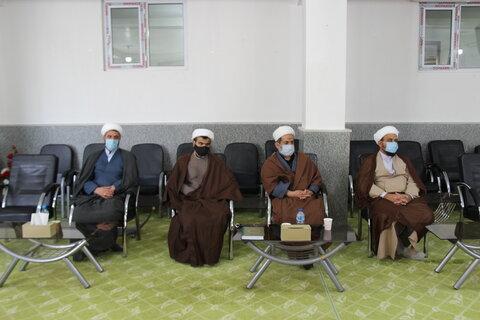 تصاویر/ نشست سرمربیان حلقات صالحین با نماینده ولی فقیه در خراسان شمالی