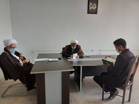 تصاویر / آزمون «تلبس» در حوزه علمیه آذربایجان شرقی
