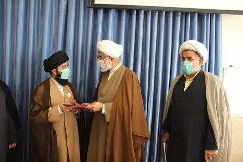 تجلیل از طلاب جهادی