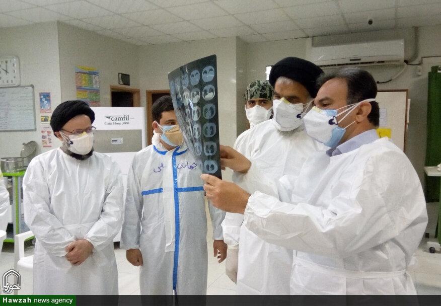 حضور میدانی نماینده ولیفقیه در خوزستان در بیمارستان رازی اهواز