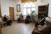 دیدار مدیر حوزه های علمیه خواهران با سرپرست جامعة الزهرا(س)