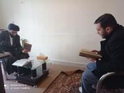 تصاویر / طرح پایش قرآنی طلاب مدرسه علمیه ولیعصر(عج) تبریز