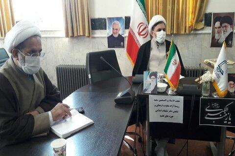 حجت الاسلام صادق ایرانی مدیر حوزه علمیه کرمانشاه