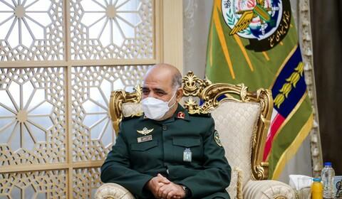 تصاویر/ دیدار مشاور عالی وزیر کشور و هیأت بلند پایه نظامی عراق با معاون ستاد کل نیروهای مسلح