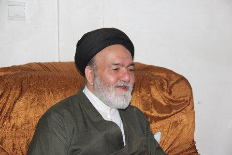 حجت الاسلام سید جوادی جانبازب دفاع مقدس قزوین درگذشت