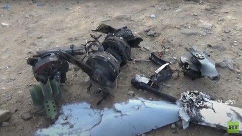 سرنگونی هواپیمای جاسوسی وابسته به اتئلاف متجاوزان سعودی