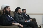 تصاویر/ نشست مدیر و اساتید مدرسه سفیران خاتم الانبیاء سنندج با حجت الاسلام علی اصغر قائمی