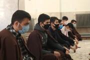 تصاویر/ مشاوره و درس اخلاق طلاب مدرسه علمیه کامیاران با حضور استاد علی اصغر قائمی