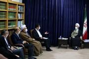 دیدار مدیرکل کمیته امداد قم با آیت الله اعرافی
