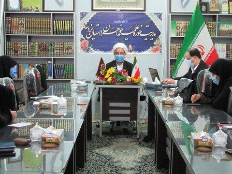 پنجمین جلسه کمیسیون توسعه وبرنامه ریزی حوزه علمیه خواهران استان یزد