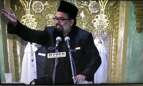مولانا سید ظل مجتبی عابدی کا انتقال ہو گیا ہے