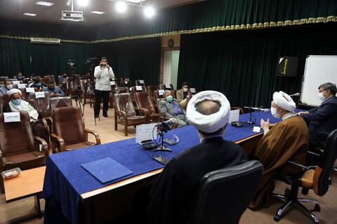 نشست خبری کنگره نکوداشت آیت الله العظمی حاج سید محمود حسینی شاهرودی