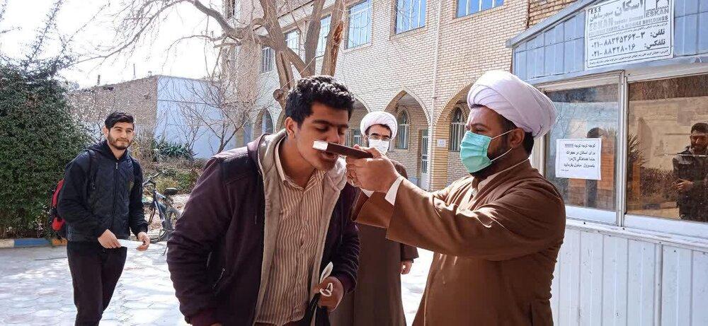 اعزام اساتید و طلاب تاکستان به مناطق زلزله زده