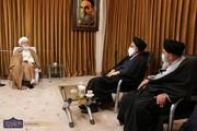 دیدار رئیس دیوان عالی کشور با مراجع و علما