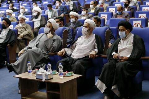 تصاویر/ آیین افتتاح پروژه های عمرانی حوزه علمیه خواهران در سراسر کشور