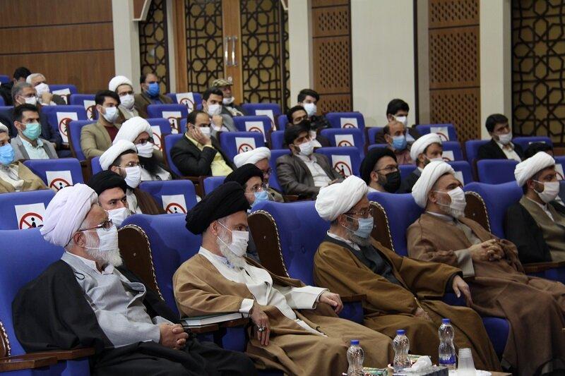 مراسم افتتاح و کلنگ زنی ۸۴ پروژه عمرانی حوزههای علمیه خواهران برگزار شد