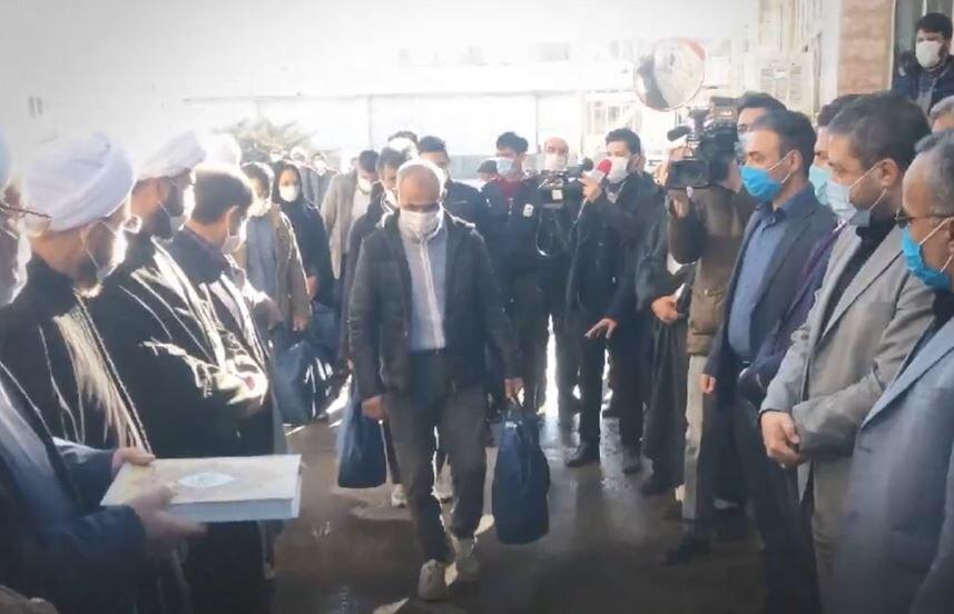 فیلم | طرح «نذر هشتم»؛ حمایت مسجدیها از زندانیان
