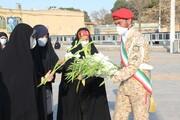 تصاویر/ مراسم تعویض پرچم گلزار شهدای قزوین به مناسبت هفته شهید