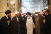 تصاویر / مراسم اولین سالگرد آیت الله سید هاشم بطحائی گلپایگانی