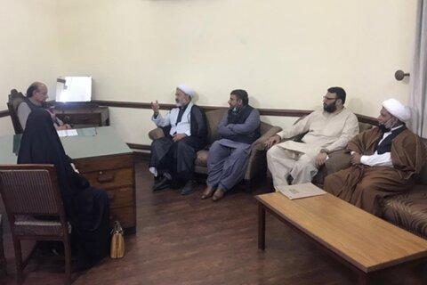 مجلس وحدت مسلمین کے وفد کی پنجاب کے وزیر قانون راجہ بشارت سے ملاقات: