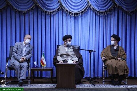 بالصور/ اجتماع أئمة جمعة محافظة أذربيجان الشرقية في إيران
