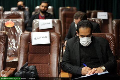 بالصو/ مؤتمر صحفي لمؤتمر الاحتفاء بمقام آية الله العظمى السيد محمود الحسيني الشاهرودي (ره) بقم المقدسة