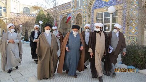 سفر حجت الاسلام والمسلمین برته به اراک