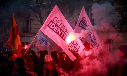 گروه مربوط به حمله به مساجد کرایست چرچ در فرانسه ممنوع شد