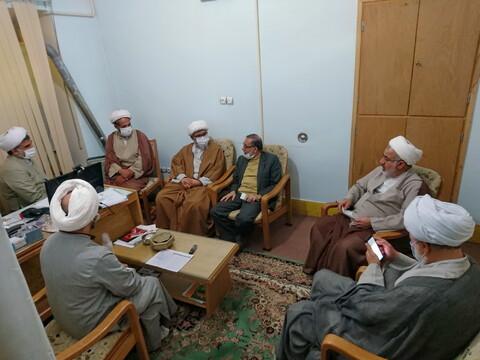 تصاویر/ بازدید نمایندگان آیت الله اعرافی از مرکز تخصصی مهدویت