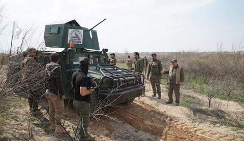 """الحشد يعثر على شبكة أنفاق لـ""""داعش"""" شرق كركوك"""