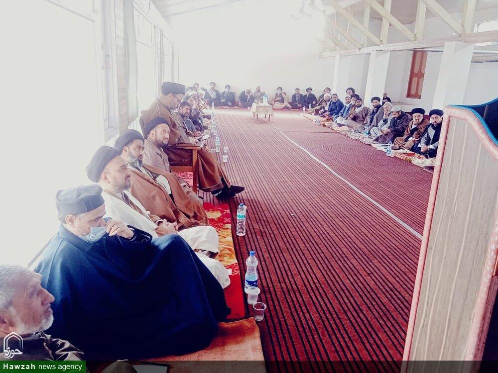 جامعہ امام رضا (ع)میں شیعہ مکتب فکر کے علماء و فضلا کا اجتماع/ متحدہ فورم تشکیل دینے کا فیصلہ