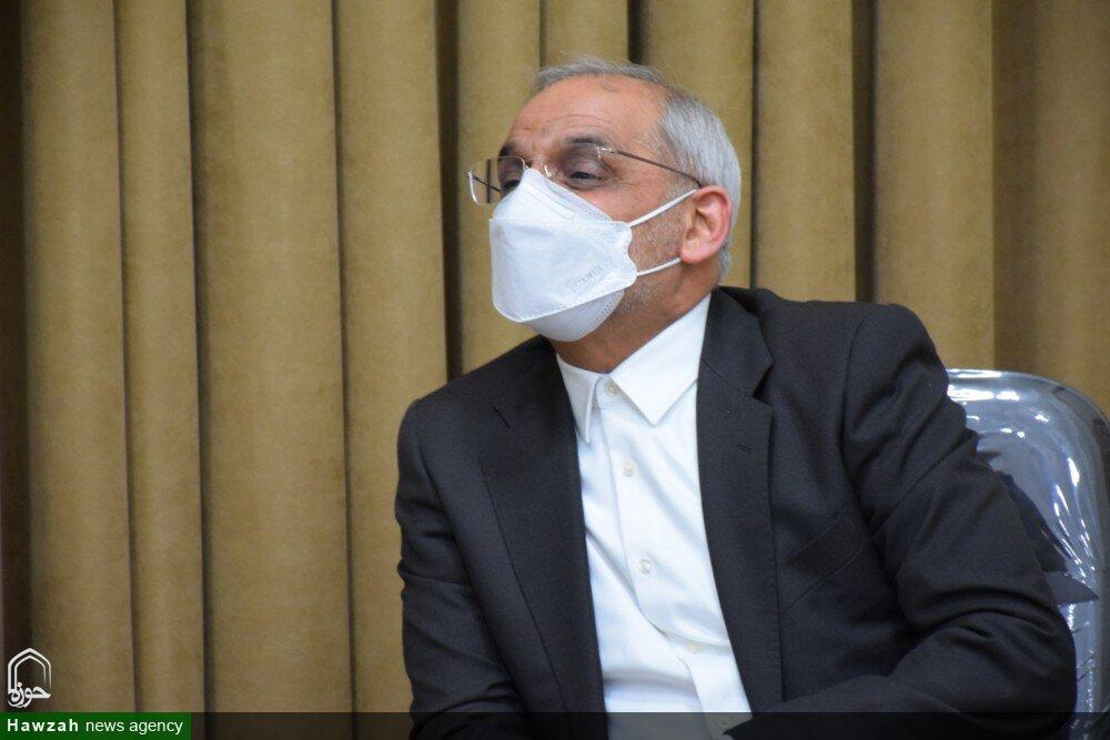 تصاویر/ دیدار وزیر آموزش و پرورش با نماینده ولی فقیه در گیلان