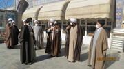 تصاویر/ سفر یک روزه مدیران مرکز رسانه و فضای مجازی حوزههای علمیه به اراک