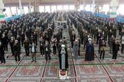 تصاویر/ اقامه نماز جمعه بجنورد با رعایت شیوهنامههای بهداشتی مقابله با کرونا