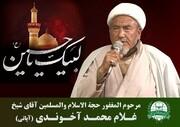 بزرگ عالم دین الحاج شیخ محمد آخوندی کی رحلت، کرگل کے عوام کیلئے ناقابلِ تلافی نقصان ہے، شیخ ناظر مہدی محمدی