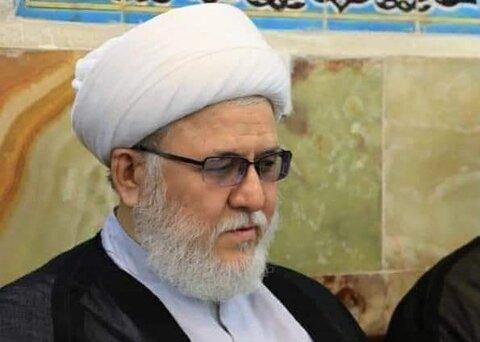 حجت الاسلام و المسلمین مهدوی از فضلای حوزه علمیه نجف اشرف
