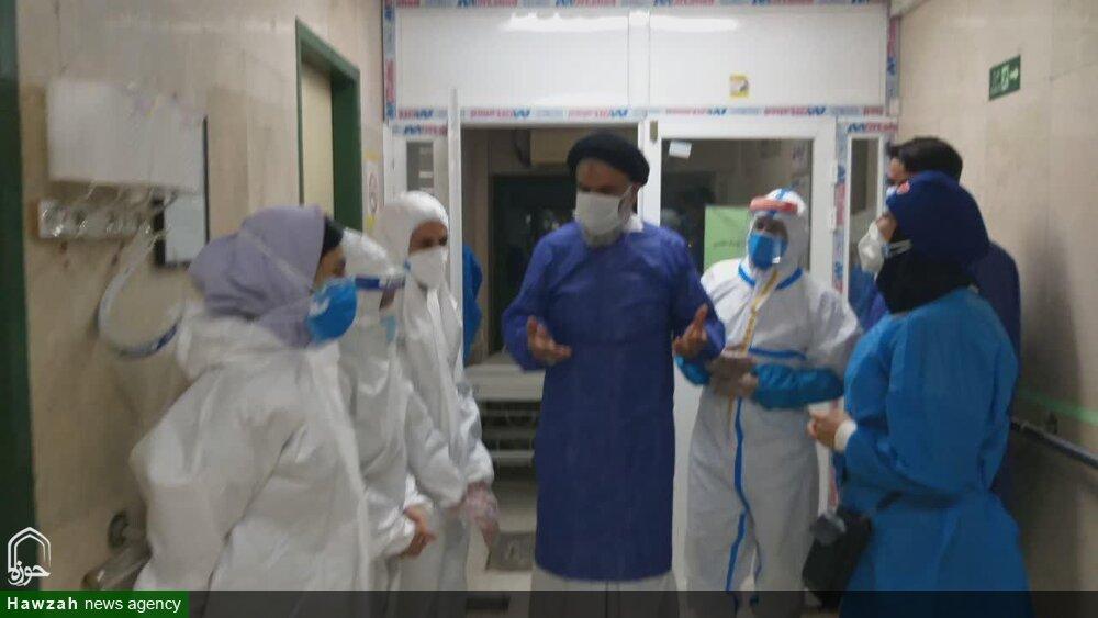 خداقوت امام جمعه اهواز به کادر درمان و جهادگران خرمشهری + عکس