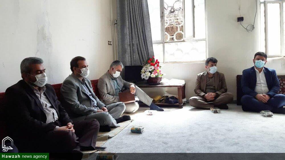 سرپرست شهرداری اهواز با نماینده ولی فقیه در خوزستان دیدار کرد