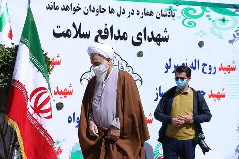 تصاویر / هفته درختکاری با حضور امام جمعه قزوین