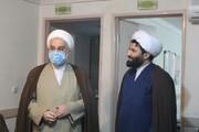تصاویر/ بازدید نماینده ولی فقیه در استان از حوزه علمیه کردستان