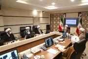 گزارشی از نشست مدیر حوزه با اعضای شورای تربیت و تهذیب