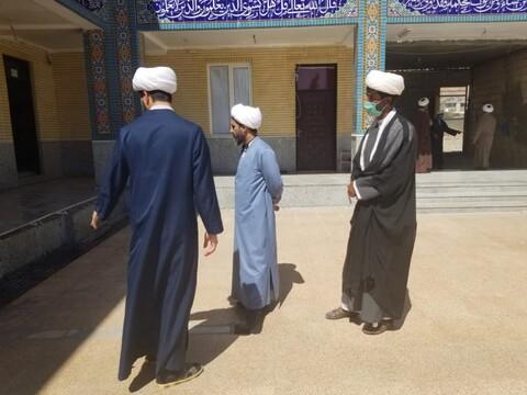 تصاویر| بازدید مدیر حوزه علمیه استان هرمزگان از مدرسه علمیه شهرستان حاجی آباد