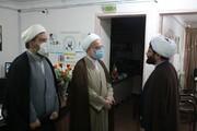 بالصور/ ممثل الولي الفقيه في محافظة كردستان يتفقد حوزة هذه المحافظة العلمية