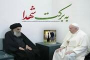 به برکت شهدا سفر پاپ به عراق در امنیت کامل انجام شد