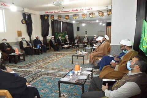 حجت الاسلام محمد حسین اجرایی ، در اجلاسیه مدیران مدارس علمیه استان در هرسین