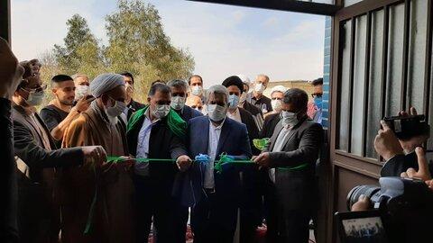 افتتاح مسجد حضرت رقیه(س) روستای سعد آباد قم