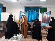 اساتید و طلاب پژوهشگر حوزه علمیه خواهران قزوین تجلیل شدند