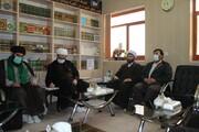 تصاویر/ دیدار مدیر حوزه علمیه کردستان با امام جمعه و اساتید مدرسه علمیه قروه