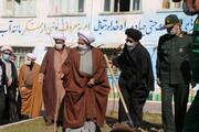 تصاویر / غرس درخت توسط ائمه جمعه تبریز و زنجان در مدرسه علمیه امیرالمومنین(ره)تبریز